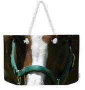 Horse Face Weekender Tote Bag