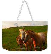Horse Family Soft N Sweet Weekender Tote Bag