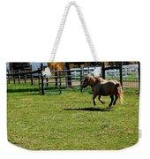 Horse Jump Weekender Tote Bag