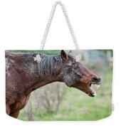 Horse Laugh Weekender Tote Bag