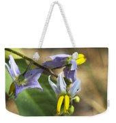 Horse Nettle Nightshade - Solanum Carolinense Weekender Tote Bag