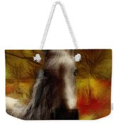 Horse On The Farm Weekender Tote Bag