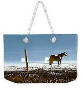 Horse Pasture Revdkblue Weekender Tote Bag