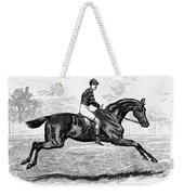 Horse Racing, 1880s Weekender Tote Bag