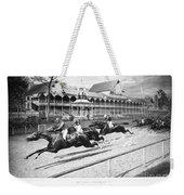 Horse Racing, 1889 Weekender Tote Bag