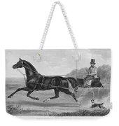 Horse Racing, C1850 Weekender Tote Bag