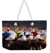 Horse Racing, Phoenix Park, Dublin Weekender Tote Bag