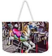 Horse Ride Weekender Tote Bag