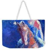 Horse Rider Weekender Tote Bag