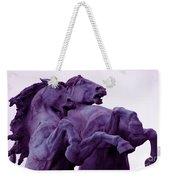 Horse Sculptures Weekender Tote Bag