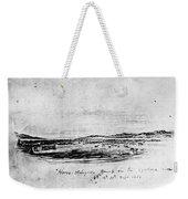 Horse Slaughter Camp 1858 Weekender Tote Bag