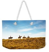 Horseback Riding Weekender Tote Bag
