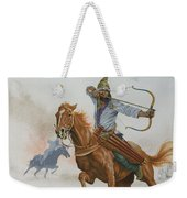 Horsemen From The Steppes Weekender Tote Bag