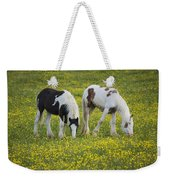 Horses Grazing, County Tyrone, Ireland Weekender Tote Bag