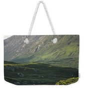 Horses Grazing On A Landscape, County Weekender Tote Bag