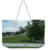 Horses On The Farm 1 Weekender Tote Bag