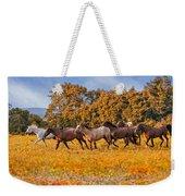 Horses Running Free Weekender Tote Bag