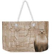 Horus Temple Weekender Tote Bag
