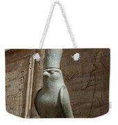 Horus The Falcon At Edfu Weekender Tote Bag