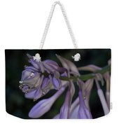 Hosta Blossoms With Dew Drops Weekender Tote Bag