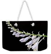 Hosta Flowers Weekender Tote Bag