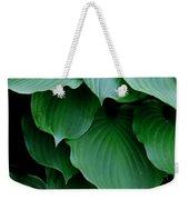Hosta Green Weekender Tote Bag