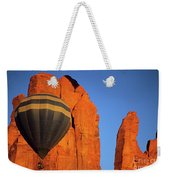 Hot Air Balloon Monument Valley 1 Weekender Tote Bag