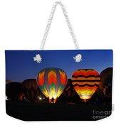 Hot Air Balloons At Dusk Weekender Tote Bag