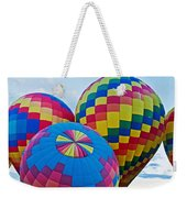 Hot Air Balloons Panorama Weekender Tote Bag