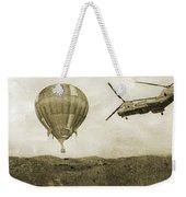 Hot Air Cool Air Weekender Tote Bag by Betsy Knapp