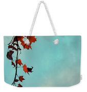 Hot And Cold Weekender Tote Bag by Aimelle