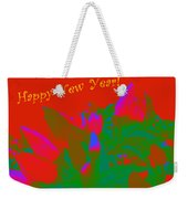 Hot As A Pepper New Year Greeting Card Weekender Tote Bag