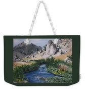 Hot Creek Weekender Tote Bag