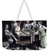 Hot Five Weekender Tote Bag