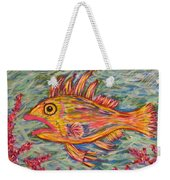Hot Lips The Fish Weekender Tote Bag