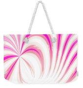 Hot Pink Swirls Weekender Tote Bag