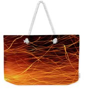 Hot Sparks Weekender Tote Bag