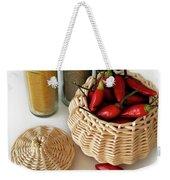 Hot Spice Weekender Tote Bag