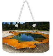 Hot Springs Yellowstone Weekender Tote Bag