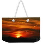 Hot Summer Night Sunset Weekender Tote Bag