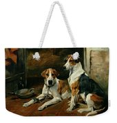 Hounds In A Stable Interior Weekender Tote Bag