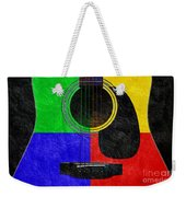 Hour Glass Guitar 4 Colors 1 Weekender Tote Bag