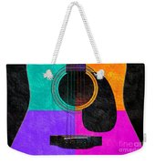 Hour Glass Guitar 4 Colors 2 Weekender Tote Bag