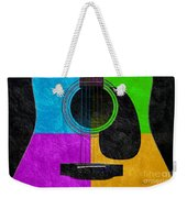 Hour Glass Guitar 4 Colors 3 Weekender Tote Bag