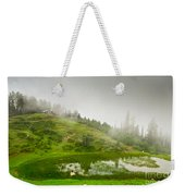 House And Fog Weekender Tote Bag by Syed Aqueel
