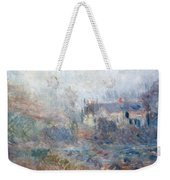 House At Falaise Weekender Tote Bag by Claude Monet