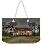 House Illuminated And With Trees Branches Weekender Tote Bag