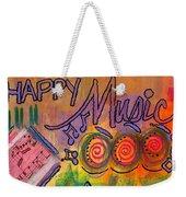 House Of Happy Music Weekender Tote Bag