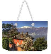 House On The Lake Front Weekender Tote Bag