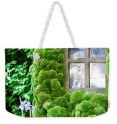 House With Moss Walls Weekender Tote Bag